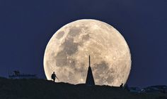 Supermoon and Perseids meteor shower offer divine heavenly show