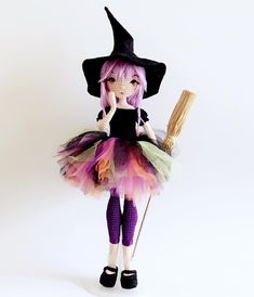 #doll #dollmaker #crochet #amigurumi #amigurumidoll #weamiguru #weave #craft #handmade #yarn #halloween #witch