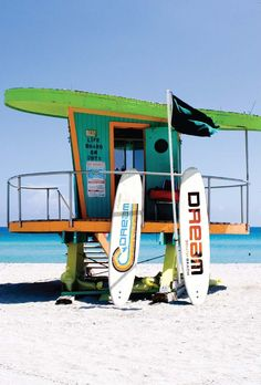 Learn how to surf at the Dream South Beach #hotel