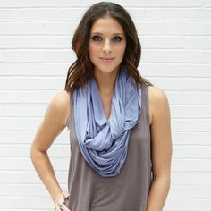 Infinity scarves are fab! I hope to win this one so I can own my first one