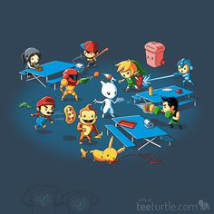 "super mario bros and nintendo game friends - Alright, WHO started it?! ""Food Fight"" is now on sale for a limited time only!"