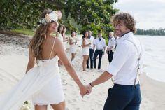 dreamy beach wedding