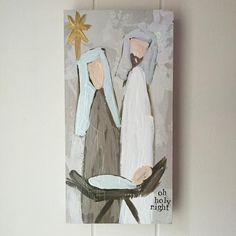 "Christmas Nativity ""Oh Holy Night"" I"