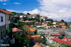02-04 Red tiled rooftops of Pedhoulas in the foothills of the... #pedhoulas: 02-04 Red tiled rooftops of Pedhoulas in the… #pedhoulas