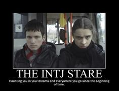 These are my stinking INTJ daughters looks almost exactly....every. day.