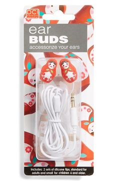 DCI 'Babushka Doll' In-Ear Headphones (Juniors) available at #Nordstrom