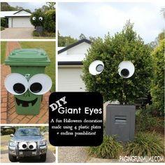 DIY Giant Googly Eye Decoration