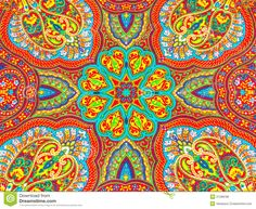 Indian Fabric Design Stock Images - Image: 20805954
