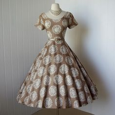 Elaine Terry California dress, 1950's