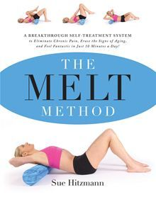 The MELT Method: A Breakthrough Self-Treatment System to Eliminate Chronic Pain, Erase the Signs of Aging, and Feel Fantastic in Just 10 Minutes a Day! by Sue Hitzmann, it really does change your body's flexibility and helps with pain. Melt Method, Self Treatment, Feel Fantastic, Lose Weight, Weight Loss, Thing 1, Acupressure, Along The Way, Fitness Diet