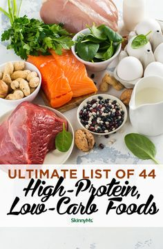 Keto Diet Menu: Keto Meal Plan for Beginners - Just For You Best Protein, High Protein Low Carb, High Protein Recipes, Low Carb Diet, Low Carb Recipes, Diet Recipes, Healthy Recipes, Protein Foods, Diet Tips