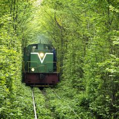 Train Tunnel in Ukraine