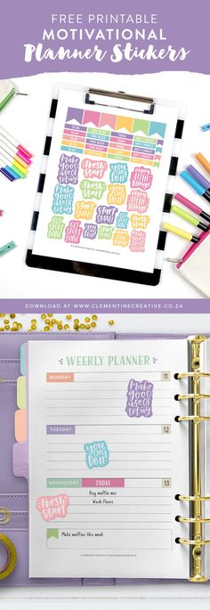 New Craft Quotes Printables Planner Stickers 45 Ideas Printable Planner Stickers, Journal Stickers, Free Printables, Printable Quotes, Printable Calendars, Teacher Stickers, Printable Crafts, Planner Template, Free Planner