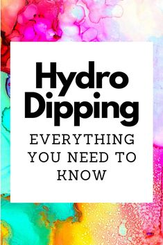 Hydro dipping is an extremely fun way for you to decorate almost any item that can be completely submerged in water. The activity is great for youth groups! Diy Tumblers, Custom Tumblers, Glitter Tumblers, Painting For Kids, Diy Painting, Bottle Painting, Hydrodipping Diy, Dyi, Diy Hydro Dipping