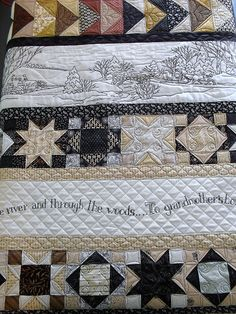 Over the River... by Jessica's Quilting Studio, via Flickr