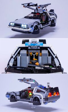 Back to the Future fan builds mini DeLorean using LEGO, complete with flux capac… Back to the Future-Fan baut mit LEGO Mini-DeLorean, komplett mit … Lego Technic, Deco Lego, Lego Tv, Lego Sculptures, Amazing Lego Creations, Lego Craft, Lego Design, Lego Models, Lego Projects