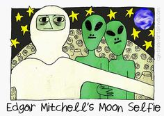 Edgar Mitchell, Apollo 14 astronaut and the sixth man to walk on the moon, said that peace-loving aliens tried to save our planet from nuclear war. Mitchell, who grew up in New Mexico not far from...
