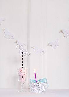 FREE printable unicorn garland