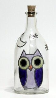 Botella buho marta