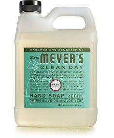 Basil Hand Soap Refill