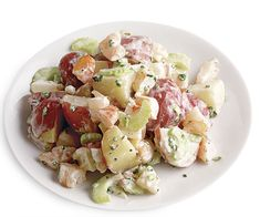 Potato Salad with Shrimp and Tarragon recipe