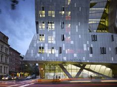 the new academic building for the cooper union