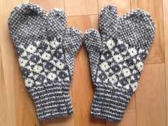 Ravelry: Thumb & Finger Homespun Mitts (Double Knit) pattern by Anna Templeton Centre for Craft, Art & Design Finger Knitting, Easy Knitting, Double Knitting, Loom Knitting, Knitting Patterns Free, Free Pattern, Mittens Pattern, Knit Mittens, Mitten Gloves