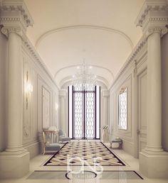 Our latest Entrance lobby design • Qatar