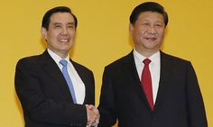 Chinese and Taiwanese leaders meet for the first time in 66 years