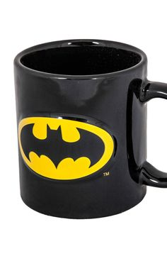 Embossed Batman Mug