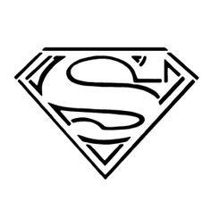 Epic Superhero Logos Coloring Pages