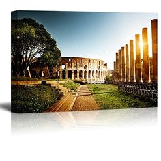 """Canvas Prints Wall Art - Colosseum in Rome, Italy - 12"""" x... https://www.amazon.com/dp/B00VR7C4Y0/ref=cm_sw_r_pi_dp_x_aZoTybPXCA3AH"""