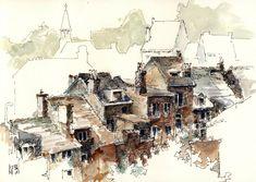urban sketchers | Sketchcrawl Limburg: Urban sketchers Belgium