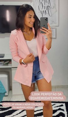 Look Short, Look Fashion, Casual, Blazers, Pose, Mini Skirts, Clothes, Outfits, Style