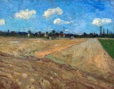 Vincent Van Gogh, The Ploughed Field, September 1888.