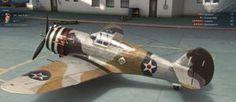 Caza estadounidense Curtis P-36C Hawk