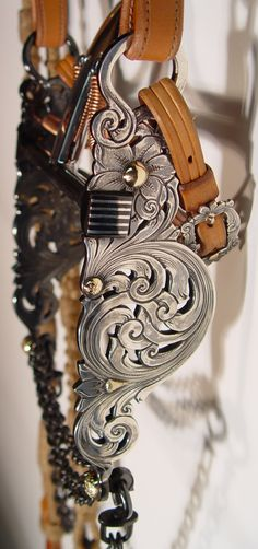 Filigree spade bit by Chris Cheney. Oh my goodness