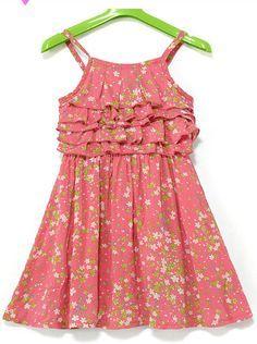 Resultado de imagen para vestidos casuales de niña de dos anos