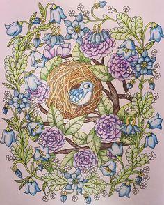 Instagram media ukeysnow - #coloring #coloringbook #målarbok #mariatrolle