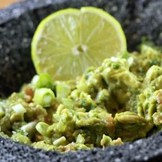 A classic guacamole recipe and a few more Superbowl snack ideas. #NFL #football #Superbowl #party