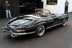 Paris - RM Auctions - February 5th, 2014. 1957 Mercedes Benz #300SL. Via: http://easygoingfuture.tumblr.com/post/108077290606/fileparis-rm-auctions-5-f%C3%A9vrier-2014. Upon special request we do #300SL restorations: http://www.bruceadams190sl.com/project/1957-300-sl-nagelberg. #BruceAdams190SL.