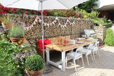 Lunch time #party #garten #fest #deko #interior #einrichtung #einrichtungsideen #dekoideen #dekoration #sommer #terasse Foto: spike2014