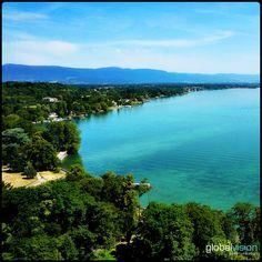 Geneva - city of parks Geneva City, Panorama 360, Aerial View, Parks, Sony, River, Outdoor, Outdoors