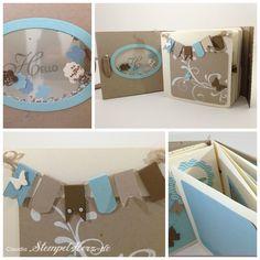 Stampin Up - Stempelherz - Minialbum Hallo Collage 02