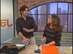 EZ Faux Steel & EZ Faux Granite on The Rachael Ray Show-You must check this out if you want to inexpensively makeover your kitchen...