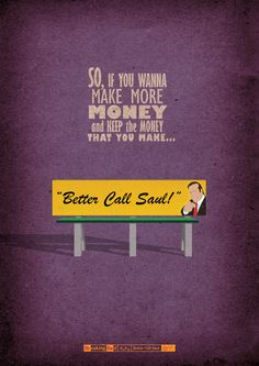 2x08: Better Call Saul by Molnár Zsolt in Budapest, Hungary Links: Buy on Society6 / deviantART