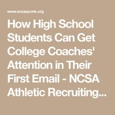 Sample coach letter and email ncsa athletic recruiting baseball sample coach letter and email ncsa athletic recruiting baseball pinterest college volleyball and athlete spiritdancerdesigns Image collections