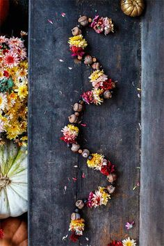 Best of DIY | Fall Floral Garland | Poppytalk