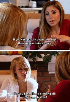 """That time Nicole was the perfect babysitter. 