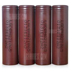 Vapor Joes - Daily Vaping Deals: FOUR PACK: LG HG2 3000MAH / 20A 18650 BATTERIES - ...